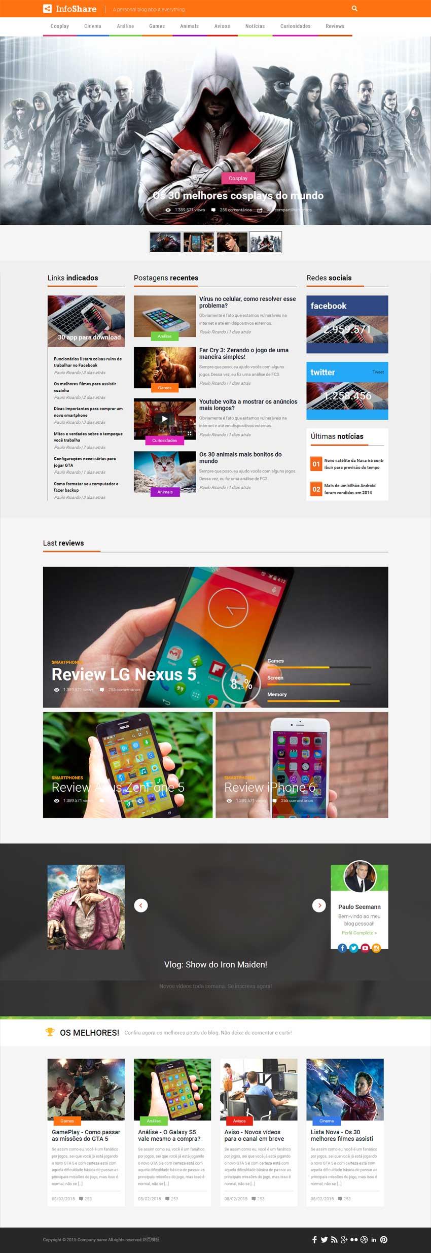 创作型网站设计